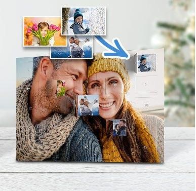Foto-Adventskalender mit eigenen Bildern von printplanet