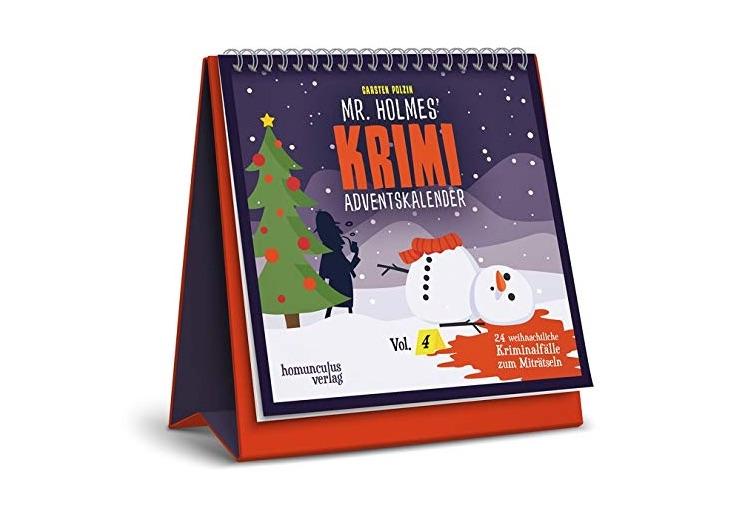 Originelle Adventskalender ohne Schokolade: Mr Holmes Krimi-Adventskalender Vol. 4 2020