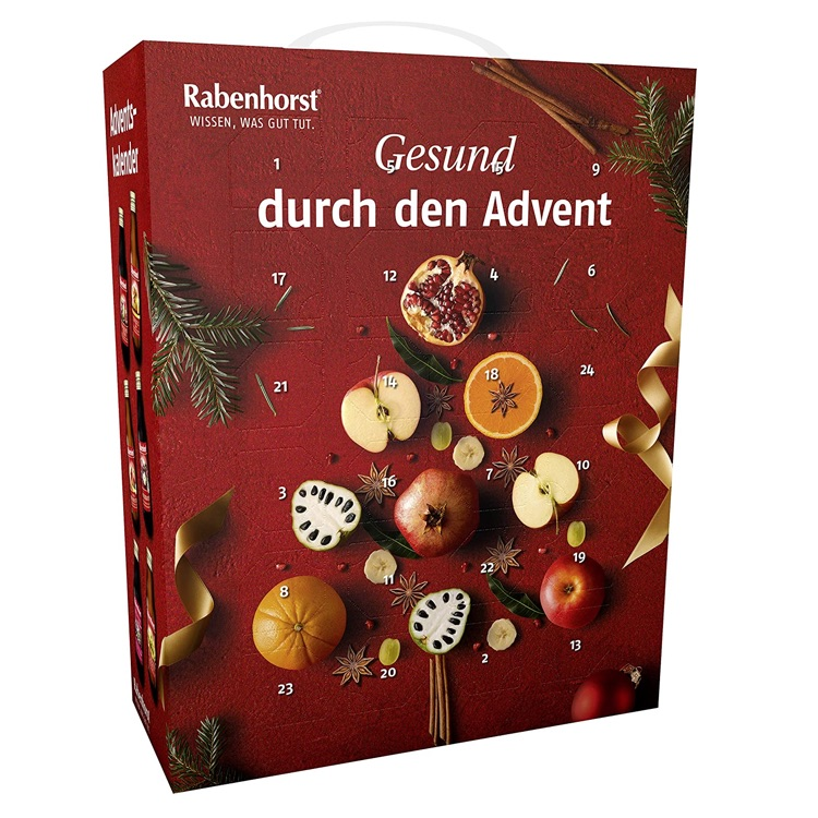 Saft Adventskalender 2020 von Rabenhorst