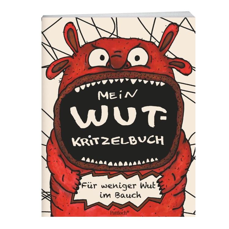 Wichtelgeschenk für 5 Euro: Wut-Kritzelbuch