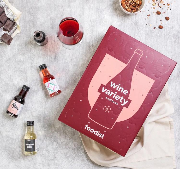 Wein-Adventskalender von Foodist