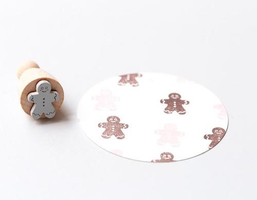 Kleines Wichtelgeschenk für Kinder: Mini Stempel