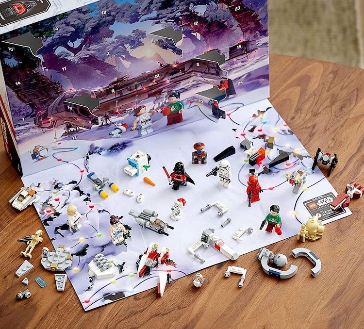 Star Wars Adventskalender von Lego