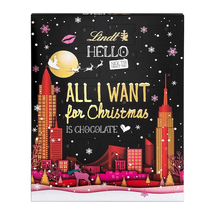 Schokoladen Adventskalender von Lindt