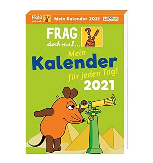 Wichtelgeschenkidee für Kinder: Frag doch mal die Maus Kalender 2021