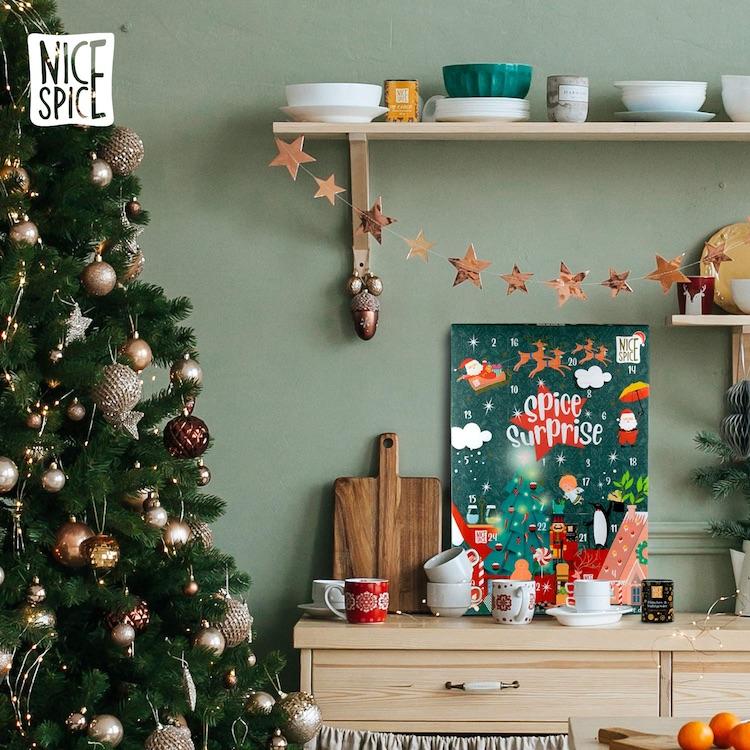 Gewürz-Adventskalender von Nice Spices 2020
