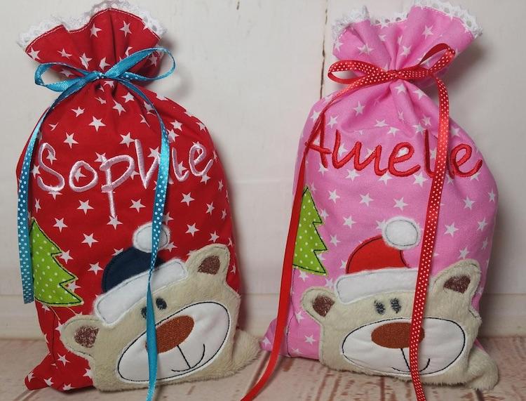 Nikolausbeutel für Nikolausgeschenke