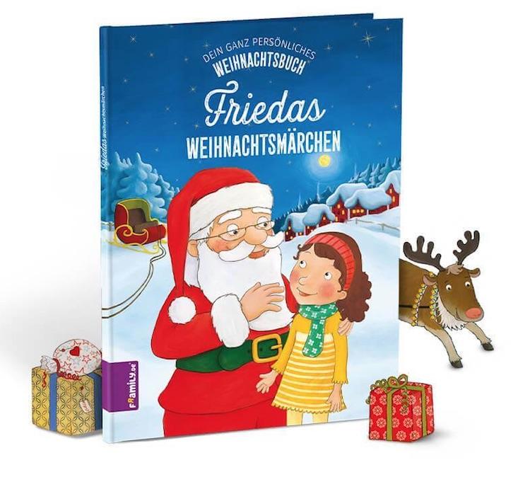 Nikolausgeschenk für Kinder: Personalisiertes Weihnachtsmärchen