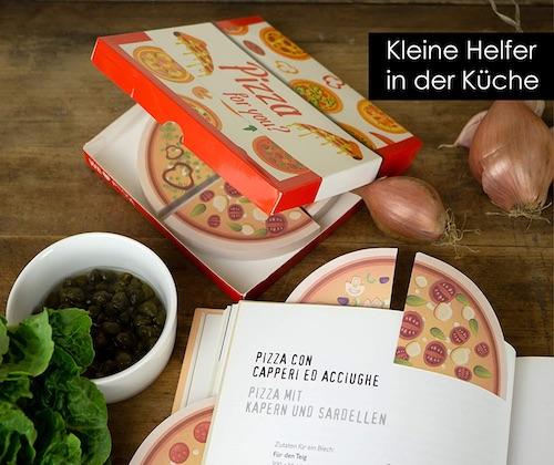 Lustiges Wichtelgeschenk mit P bis 10 Euro: Pizza-Sticky-Notes