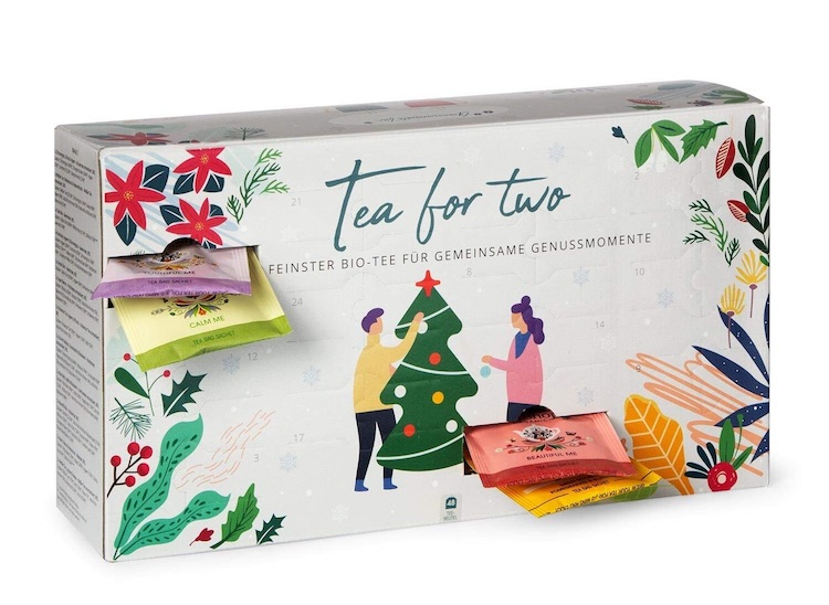 Tea for Two - Tee Adventskalender für Paare