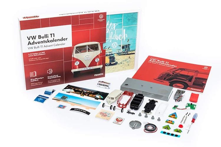 VW Bulli Modellbau Adventskalender 2020