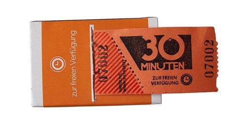 Lustiges Wichtelgeschenk mit Z bis 10 Euro: Zeitmarken zum Abreißen