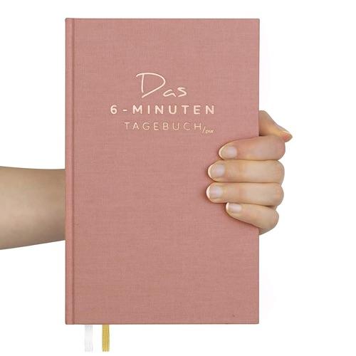 6-Minuten Tagebuch für mehr Achtsamkeit und Dankbarkeit