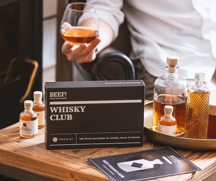 Geschenk-Mitgliedschaft im BEEF Whiskey Club