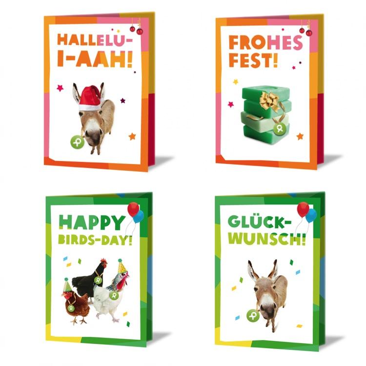 Geschenkkarten von Oxfam