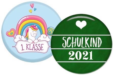 Geschenke für die Schultüte: Schulkind-Button