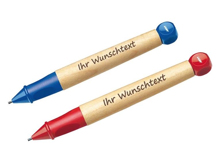 ABC Schreiblernstift mit Gravur